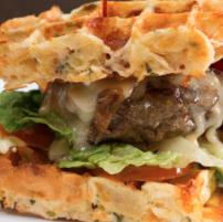 burger food-truck lille original lens WAFFLE STREET