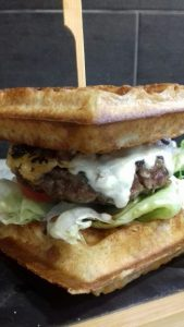 burger gaufre food truck lille Lens contact