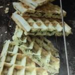 gaufres panini végétarien