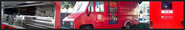 Microsoft Food Truck Marketing