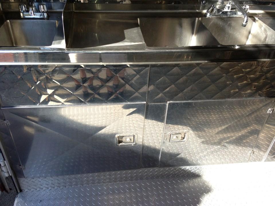 Food Truck Kitchen Storage