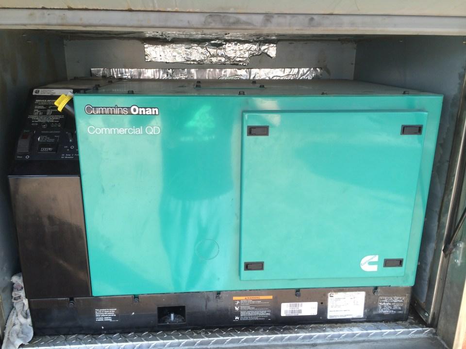 food truck generator