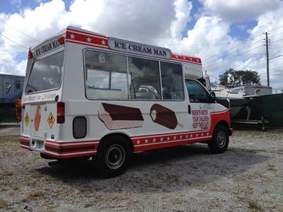 orlando ice cream truck for sale