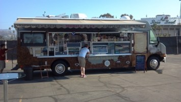 custom coffee truck for sale