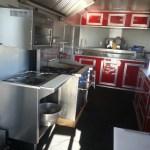 food trailer interior