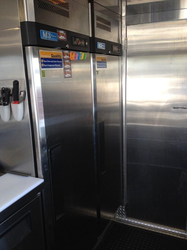 Juice Truck Refrigerators