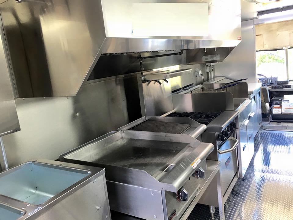 Custom Food Truck For Sale