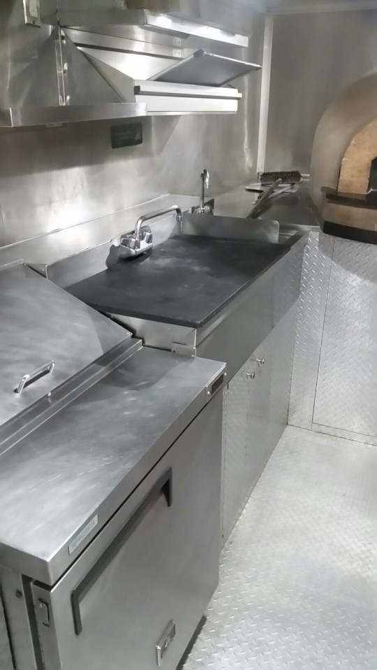 Flat Grill Food Truck For Sale