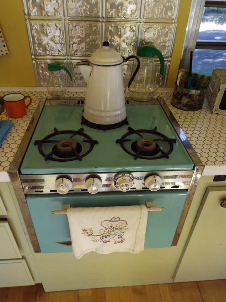 Stove Top Oregon Trailer