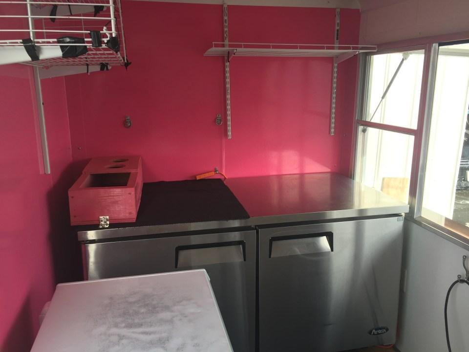 Virginia Trailer Kitchen
