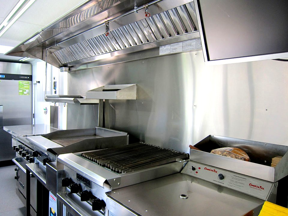 Custom Food Truck Kitchen