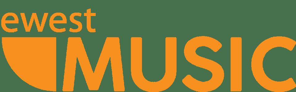 Ewest Music Logo slant-1-01