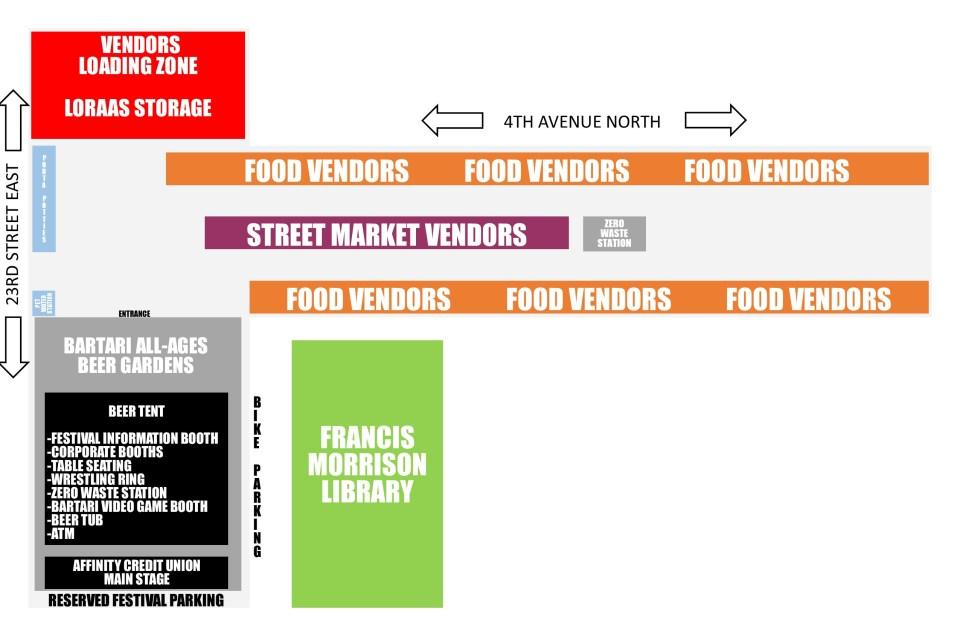 FOODTRUCK WARS SITE MAP 2020