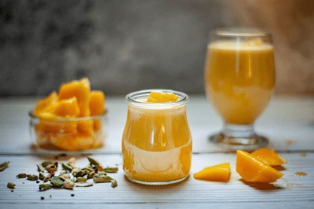 Low Carb Mango-Melonen-Smoothie