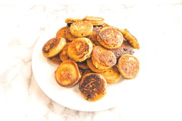 Mini-Falafel Fladen