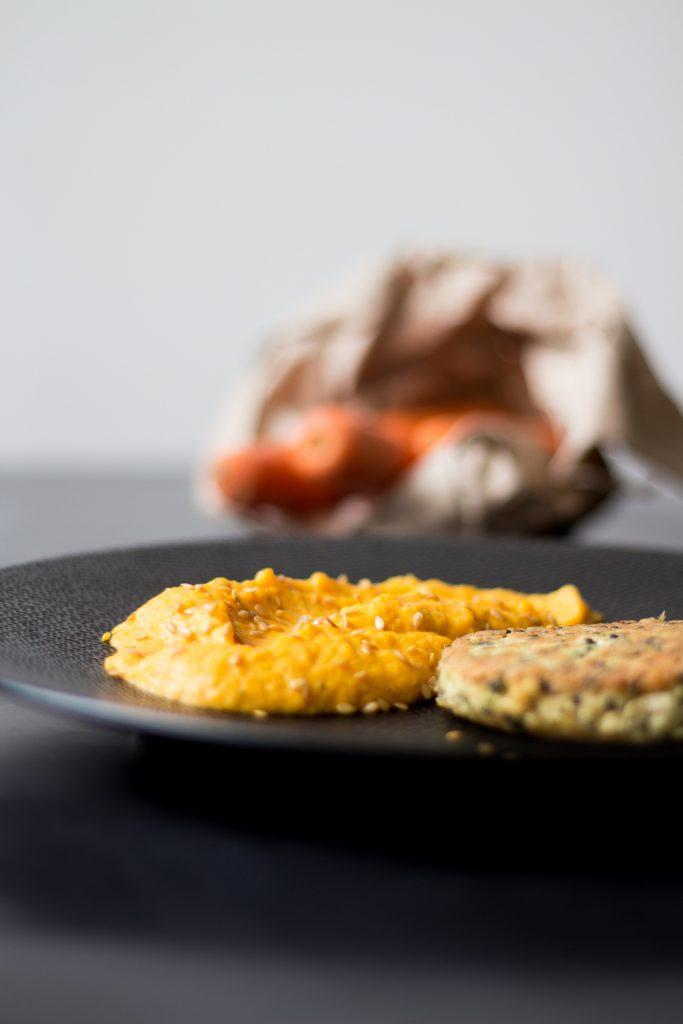 quinoa-burger-puree-carrots-gargonzola-gregousfood-3