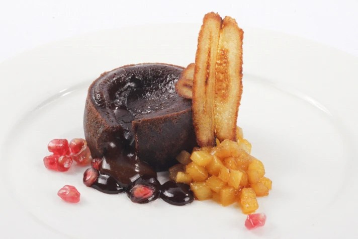 Couland de chocolate para microondas sin gluten - foodVAC