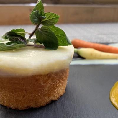 Carrot Cake sin gluten - Productos Quinta Gama para Alta Cocina - foodVAC