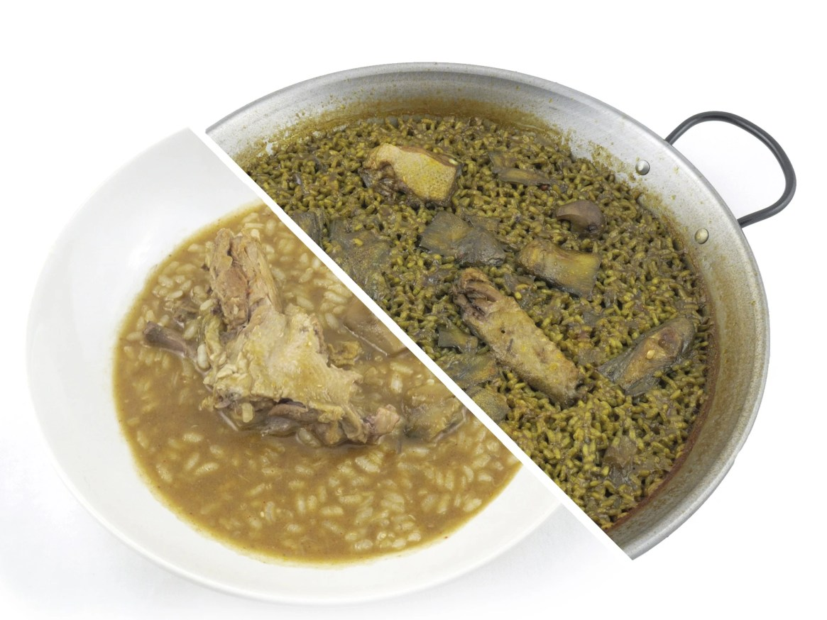 Arroz de Pato con Alcachofas foodVAC