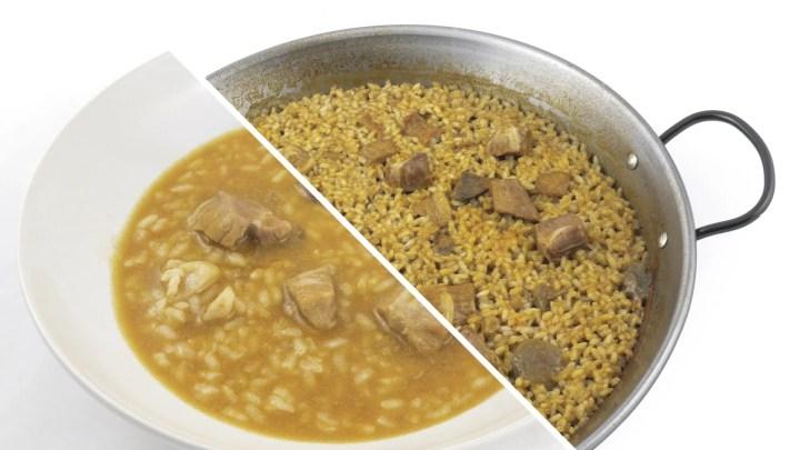 Arroz de Secreto Ibérico y Boletus Quinta Gama foodVAC