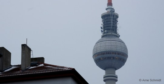 Roof Top - TV Tower, Berlin Mitte, February 2013