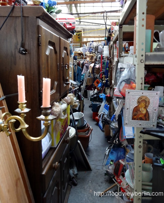 Indoor Flea Market - Berlin Treptow, June 2013