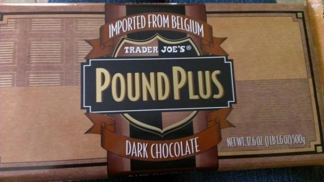 Trader Joes Pound Plus Dark Chocolate