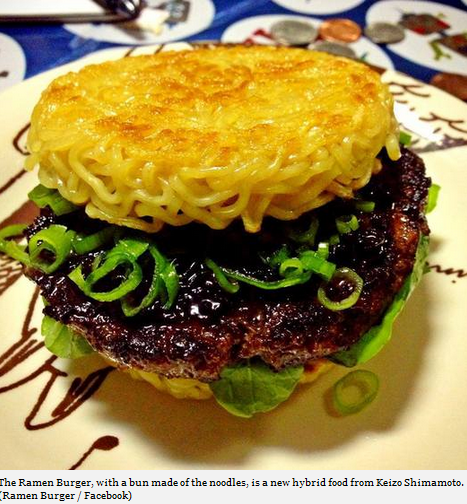 Ramen Burger May Be The Next Best Thing