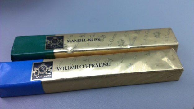 J.D. Gross German Chocolates. Photo: Foodwanderer