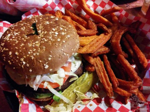 Grilled Portobello And Avocado Burger