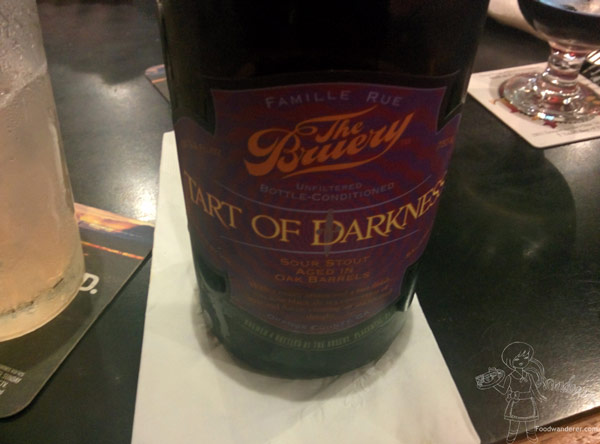 The Brewery Tart Of Darkness