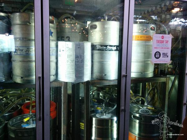 Metal beer barrels Packing House