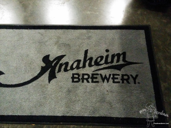 Anaheim Brewery Welcome Mat