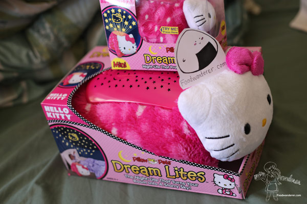 Hello Kitty Dream Lites: Mini and large packaging