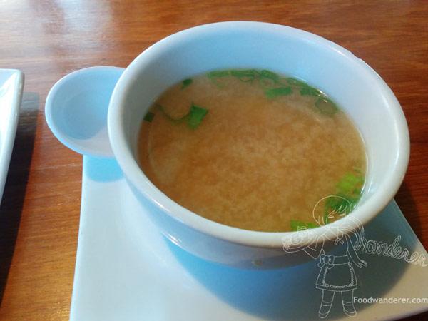 Kabuki's Miso Soup