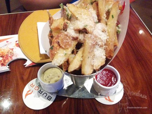 Gordon Ramsay Truffle Parmesan Fries $11