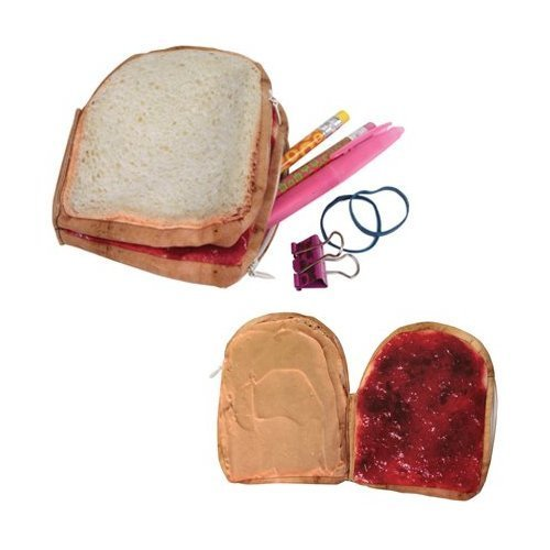 Peanut Butter and Jelly Food Wallets