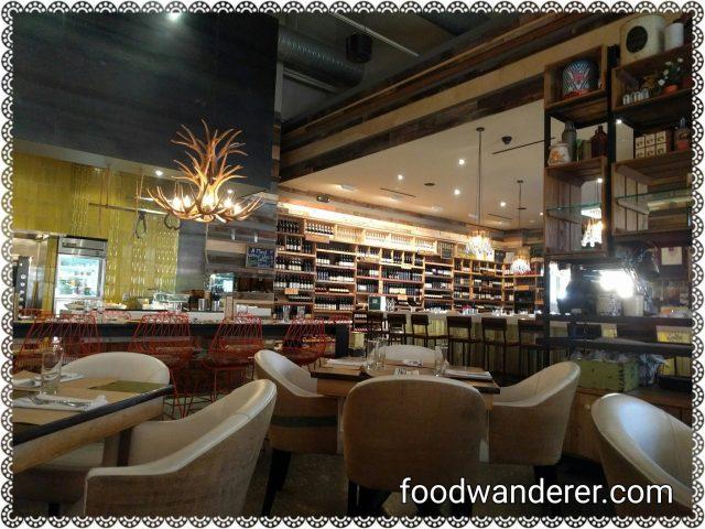Cucina Enoteca Dining area