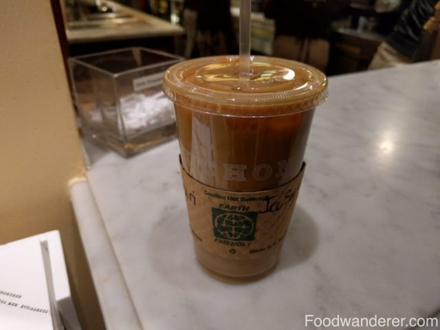 Bouchon Iced Soy Latte