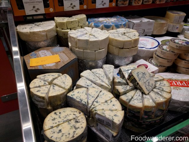 Blue cheese, whole foods cheese