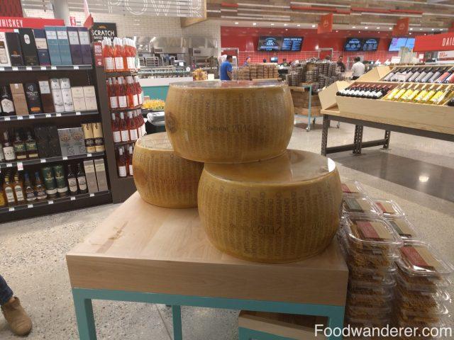 Wheel of Parmigiano Reggiano