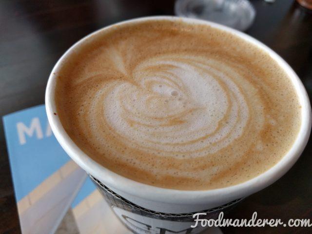 Cute latte art