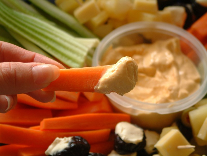 Carrot with Dip 172187490
