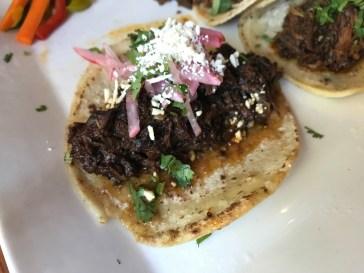 Beef Cheek Taco of the Week at Tacolicious in Palo Alto, California