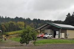 The new winery building.