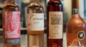 Our Rosé lineup for the evening