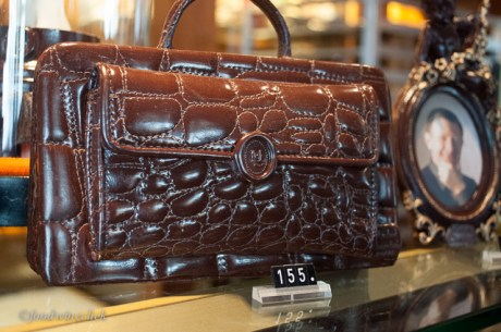 One of a kind chocolate handbag.