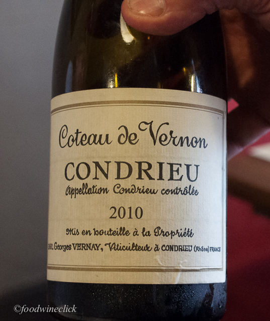 Condrieu is classic French Northern Rhone Viognier.