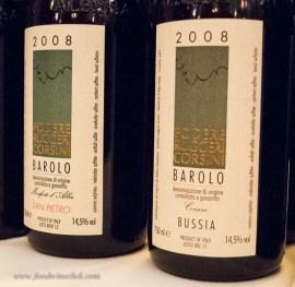 Bricco San Pietro and Bussia - two single vineyard Barolo's
