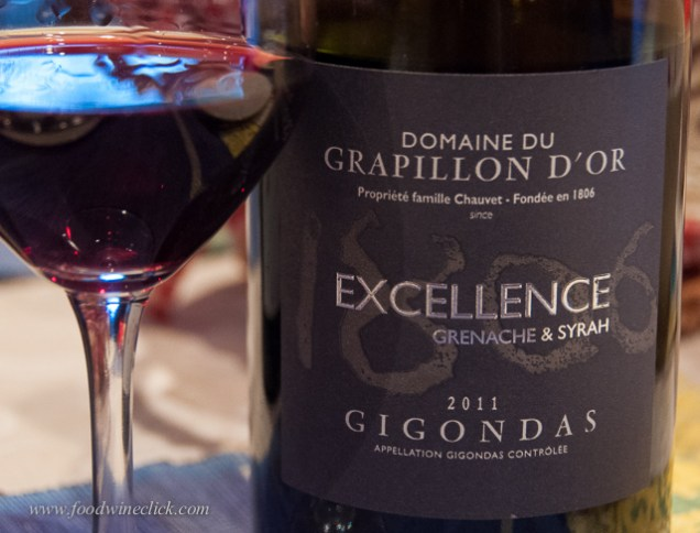 Domaine Grapillon D'Or - subtle during the tasting, this wine was our favorite to actually drink.